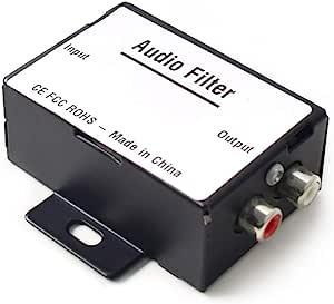Car Audio Filter Interference Filter Emi Hi Low Converter Noise Eliminator Filter Auto