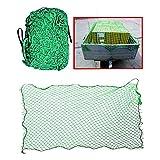 takestop® Rete Elastica Verde ws1257 Auto 1.5MX2.2M per RIMORCHI Portapacchi Cinghia Gomma ESPANSIBILE Fissare CARICHI FURGONI Trasporto