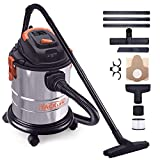 TACKLIFE Wet and Dry Vacuum, 3 in 1 Function Vacuum Cleaner 1000W, 18.9L