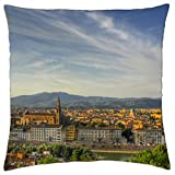 florence italy - Throw Pillow Cover Case (18