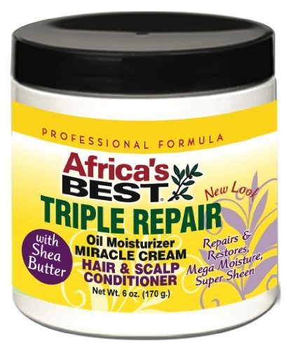 Africa's Best Triple Repair Oil Moisturizer H&S conditioner 6 oz by Africa's Best by Africa's Best