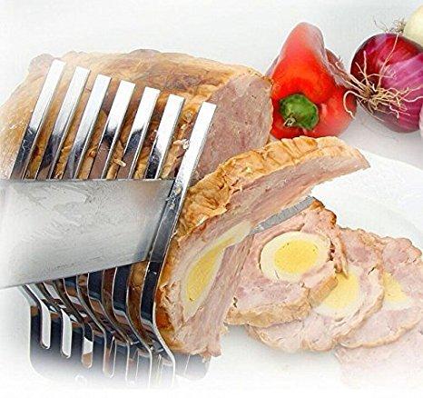 Pinza per arrosto in acciaio inox–Piatti di utensili per il taglio regolare del Roti