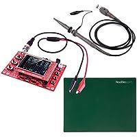 Oscilloscope JYETech 'DSO 138' Kit de Bricolage Avec Sonde à 100MHz, Sonde de Clip et Tapis de Silicone (ESD-Safe)