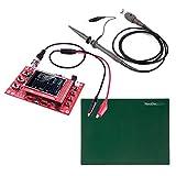 JYETech 'DSO 138' Osciloscopio DIY Kit con sonda de 100MHz, sonda de clip y ESD-Safe Mat Silicona