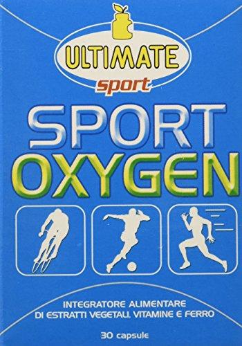 ultimate italia sport oxygen integratore di vitamine e fetto - 30 capsule