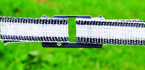 Preisvergleich Produktbild Bandverbindungsplatte für Bänder von 10 bis 20 mm Set mit 10 Stück
