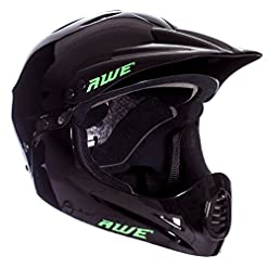 AWE® BMX Full Face Casco Nero L, 58-62cm