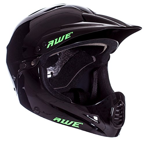 Casco para BMX de AWE®, 58-62 cm, color negro