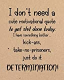 DETERMINATION: Journal Notebook