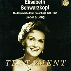 Unpublished Emi Recordings 1955-64: Lieder & Song by Testament UK (2000-12-15)