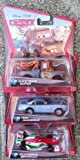 Set of 3 Disney Pixar Cars 2 /Francesco Bernoulli/Race Team Mater/Finn McMissile by Disney
