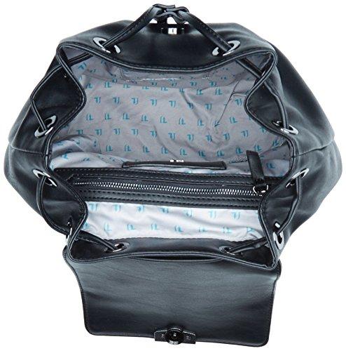 Trussardi Jeans Damen 75b00204-1y000053 Umhängetasche, 23x27x17 cm Schwarz (Nero)