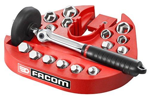Facom D.48-KITPG - Kit de vidange - 15 embouts magnétiques - Support de travail