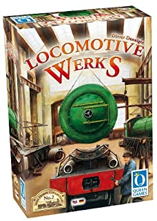 Queen Games 60931 - Locomotive Werks, Brettspiele (B00720N4DG) | Amazon Products