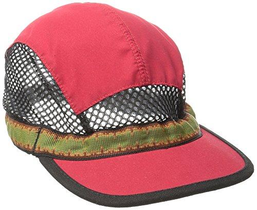 Kavu der Trailrunner Baseball Cap, unisex, rot