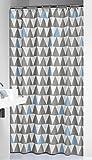 Sealskin 210921320 Duschvorhang Nordic, Peva, Farbe: Hellblau-Grau, B x H: 180 x 200 cm