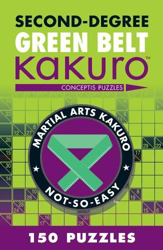 Second-Degree Green Belt Kakuro (Second-Degree Kakuro) por Conceptis Puzzles