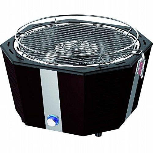 Fumo-batovi-legno-carbone-barbecue-di-SYNTROX-in-acciaio-inox-griglia-da-tavolo-nero-con-calore-regolatore-Cool-Touch-funzione