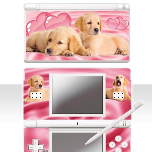 """Nintendo DS Lite Skin \"""" PINKY WELPEN \"""" Aufkleber Sticker Folie Schutzfolie"""