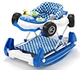 Mychild 2-in-1 Car Walker Blue