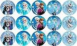 Tortenaufleger Elsa Mix 6 cm Ø