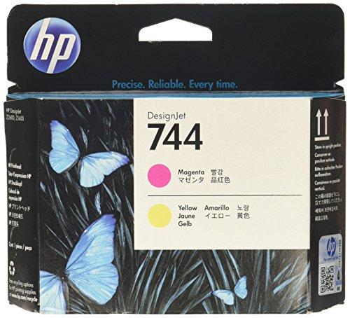 Hewlett Packard 936561 Cartouche d'encre d'origine compatible avec Imprimante HP DesignJet Z2600 24-in PostScript/HP DesignJet Z5600 44-in PostScript Jaune/Magenta