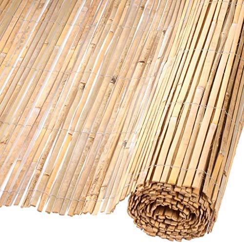 Canisse en bambous fendus naturels H1,5xL5m