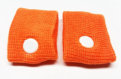 Comfort Aid 2 Armbänder gegen Übelkeit Akupressur Reisekrankheit Farbwahl (orange) -