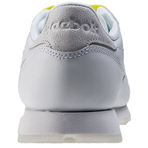 Reebok Femme Baskets CL Leather Face white