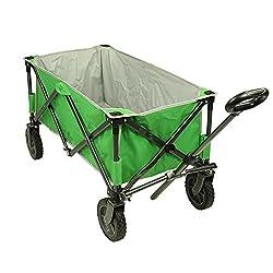 Fridani Bollerwagen BTG XL Strandwagen 75 kg Faltkarre stabile Räder Komfort Griff Einlegeboden grün