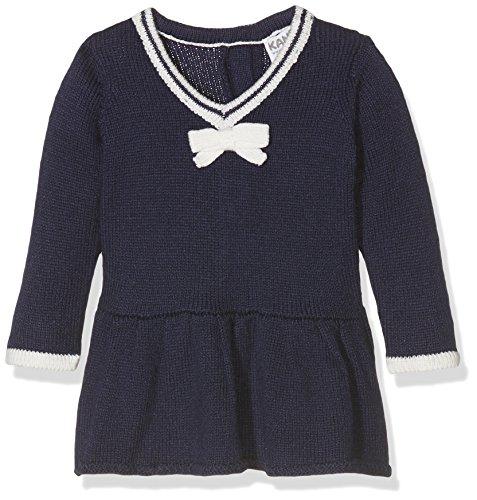 Kanz Mädchen Kleid Kleid 1/1 Arm, Gr. 86, Blau (peacoat 3470)