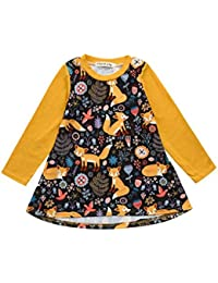 Vestidos Bebé Niña, K-youth® Estampado de zorro Manga Larga Vestido de princesa Ropa Niña Party Dresses
