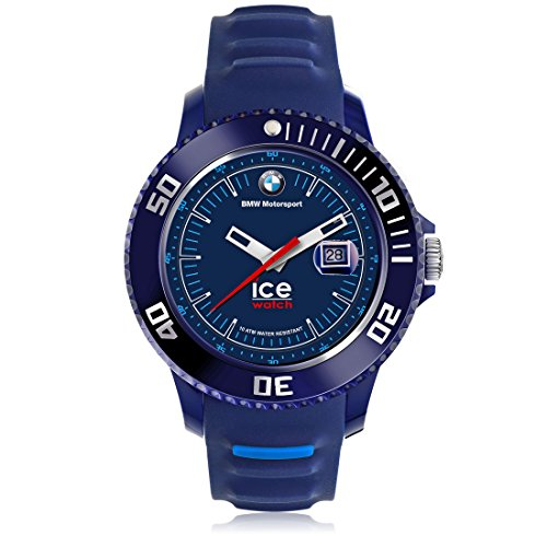 Ice-Watch - BMW Motorsport (sili) Dark & Light BE - Montre bleue pour homme avec bracelet en silicone - 001127 (Medium)