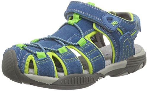 Lurchi Bobby, Jungen Geschlossene Sandalen, Mehrfarbig (electric blue 22), 32 EU