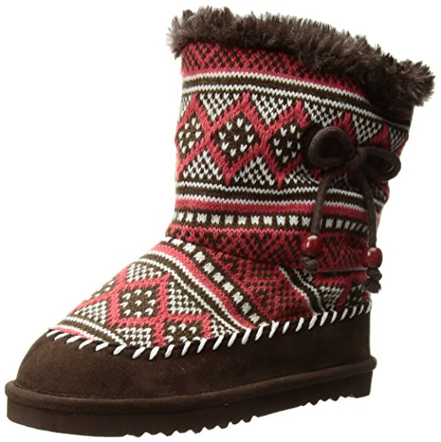 Western Chief Elsa Faux Fur Lined Metallic Casual Boots