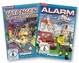Playmobil Gefangen i.d. Drachenfestung/Alarm! Großeinsatz Laura & Alex