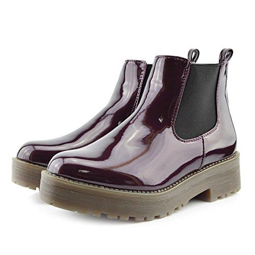 Kick FootwearChelsea Boots - Stivali Chelsea donna Rosso (Bordeaux)