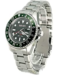 Nautec No Limit Herren-Armbanduhr DS GMT/STGR2