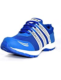 Blue Pop 317 Blue Lace Up Running Shoes