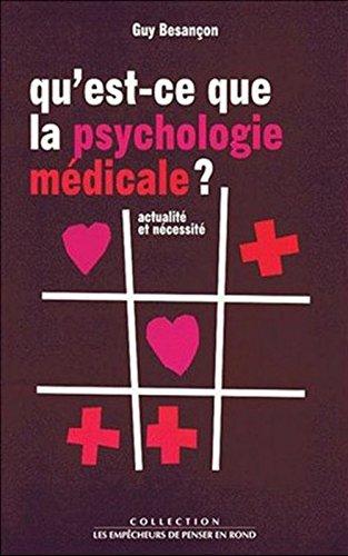 Qu'est-ce que la psychologie médicale ?