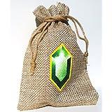 Link 's Rubin de bolsa verde–Cosplay