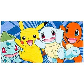 Pokemon Pikachu Boom Strand Handtuch 100/% Cotton Kinder