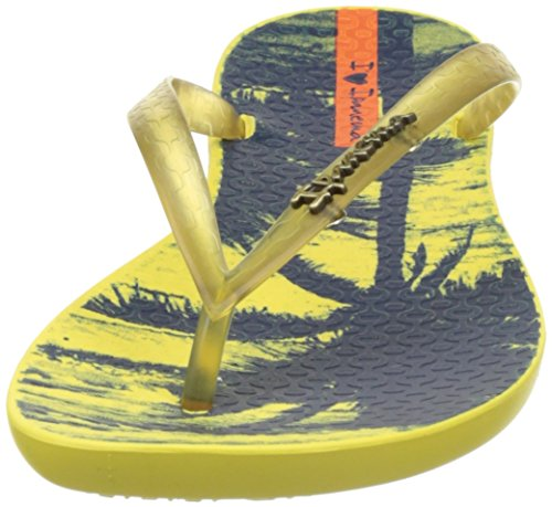 Ipanema Wave Tropical Fem, Tongs Femme Jaune (Yellow/ Yellow)