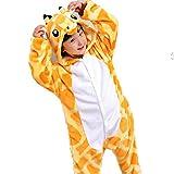 Disfraz Pijamas Infantil Animales Divertidas Temporada Moda Varios Modelos y Tallas (100 (2-3 años), Jirafa)
