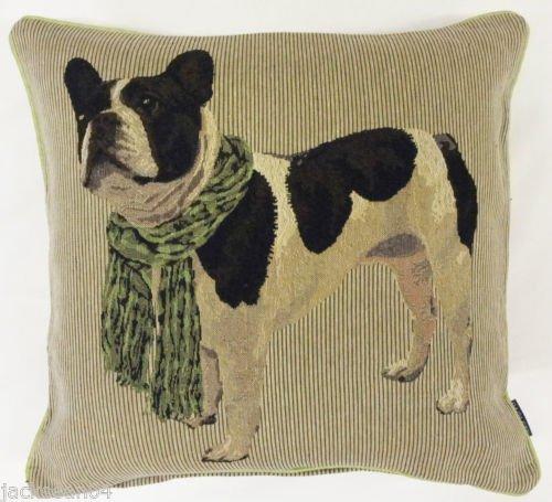 Gefüllt Französische Bulldogge Baumwolle 18 Grün Beige Dick Rv (Gefüllt Französische Bulldogge)