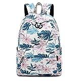 XHHWZB Leichtgewichtiger Rucksack für die Schule, Klassischer, Wasserdichter, lässiger Tagesrucksack für die Reise mit Seitlichen Taschen