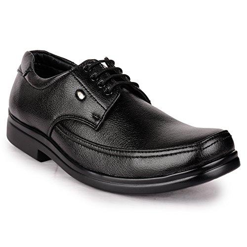 Action Shoes Men's Black Formal Shoes - 8 UK/India (42 EU)(D-21-BLACK)