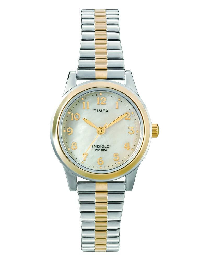 Timex Dressy Ex T2M828 – Reloj de Cuarzo para Mujeres, Correa de