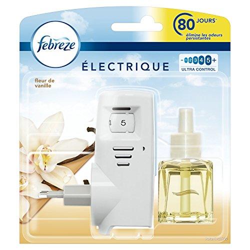 Febreze Kit de Démarrage pour Désodorisant Électrique Fleur de Vanille 20ml