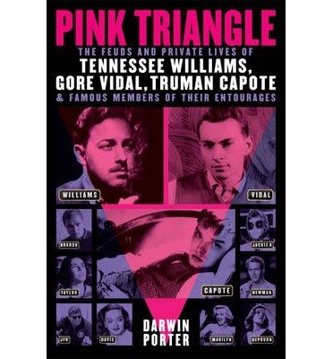 [{ Pink Triangle: The Feuds and Private Lives of Tennessee Williams, Gore Vidal, Truman Capote, and Members of Their Entourages By Porter, Darwin ( Author ) Feb - 07- 2014 ( Paperback ) } ]